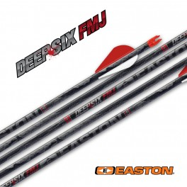 Easton Pack 12 Tubos Deep Six Injexion FMJ Full Metal Jacket
