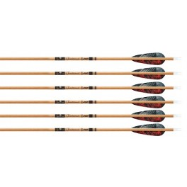 Gold Tip Pack 12 Tubos De Carbono Traditional
