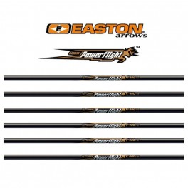 Easton Pack 12 Tubos Carbono Power Flight