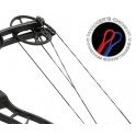 Winners Choice Bowstring 2 Cam Material 8190 Negro/Plata