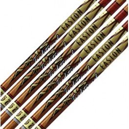 Easton Pack 12 Tubos de Flecha De Carbono Axis Traditional
